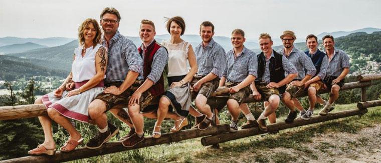 Das Team von Haustechnik Zelzer in Bodenmais